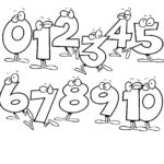 Free Printable Number Coloring Pages For Kids