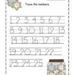 Free Printable Number Tracing Worksheets 1 20