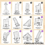FUN HOUSE TOYS Numberblocks In 2020 Coloring Pages