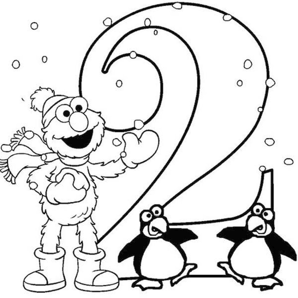 Get This Number 2 Coloring Page 26571