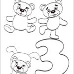 Get This Number 3 Coloring Page 3a73n