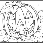 Halloween Color By Numbers Free Halloween Coloring Pages