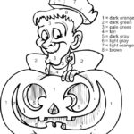 Halloween Number Coloring Pages At GetColorings Free
