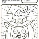 Halloween Pumpkin Color Halloween Worksheets Halloween