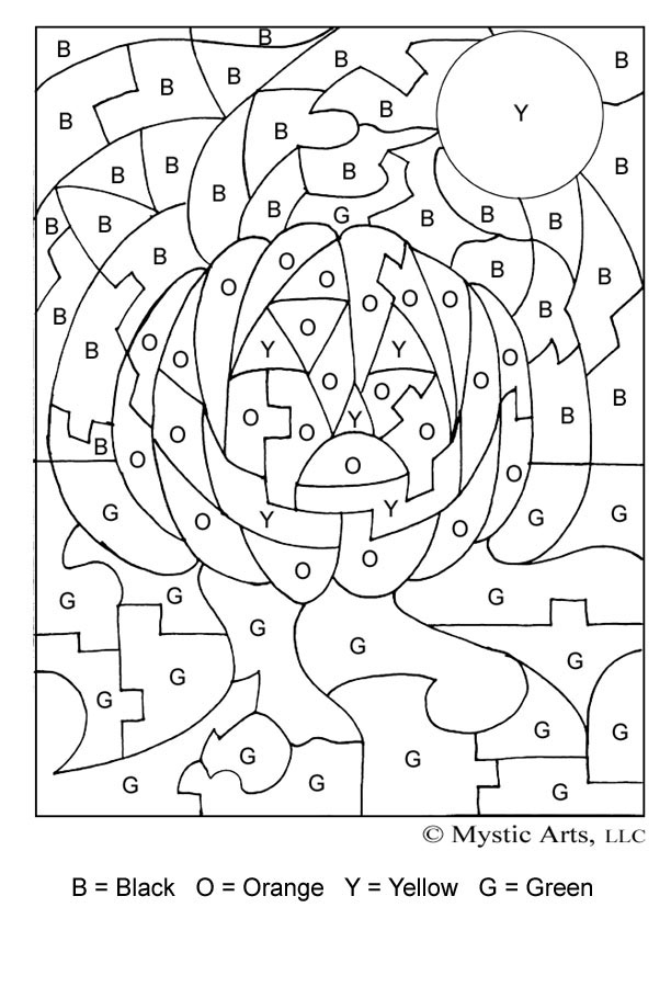 Here Lies Your Link COLOR BY NUMBERS