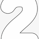 It s As Easy As 1 2 3 To Use Our Free Printable Numbers