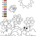 Kids Paint By Numbers Printable Activity Sheets For Kids