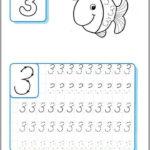 Kindergarten writing numbers worksheets Funnycrafts