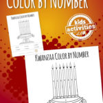 Kwanzaa Color By Number Coloring Sheet Kwanzaa Colors