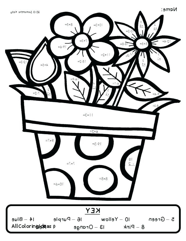 Math Coloring Pages 2nd Grade At GetColorings Free