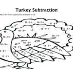 Math Coloring Pages Subtraction Worksheets Math