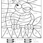 Multiplication Coloring Page Math Coloring Worksheets