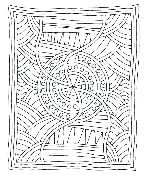 Mystery Mosaic Coloring Pages At GetColorings Free