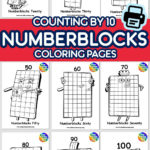 New Numberblocks 100 Available As Coloring Printable For