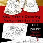 New Year s Color By Number Totschooling Toddler