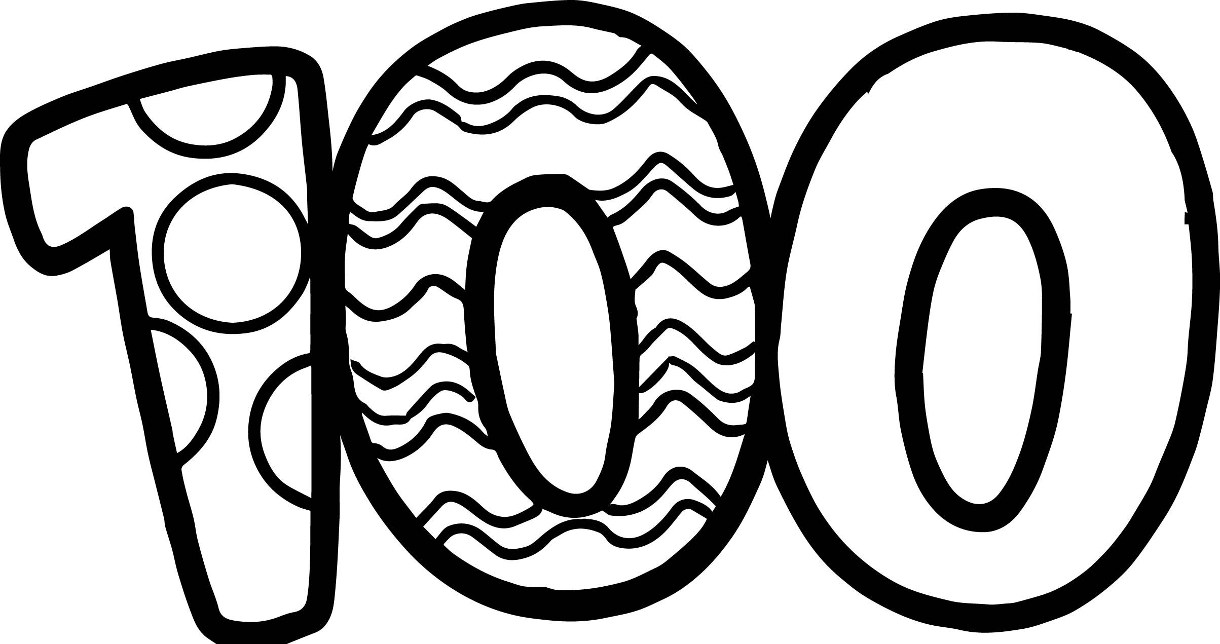 Nice 100 Days Of School Number Coloring Page School