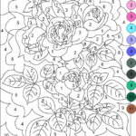 Nicole s Free Coloring Pages COLOR BY NUMBER Free