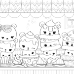 Num Noms Coloring Pages Best Coloring Pages For Kids