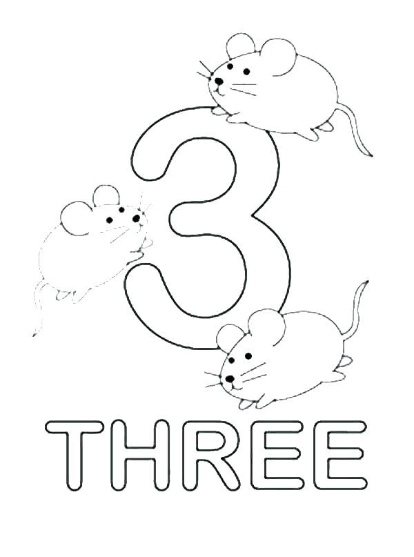 Number 1 Coloring Pages For Preschoolers At GetColorings