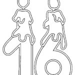 Number 16 Coloring Page At GetColorings Free