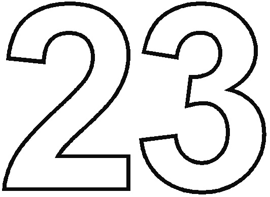 Number 21 Coloring Page At GetColorings Free