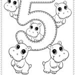 Number 5 Preschool Printables Free Worksheets And Coloring