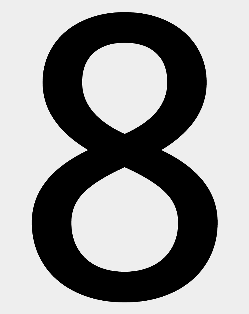 Number 8 Png Large Printable Number 8 Cliparts