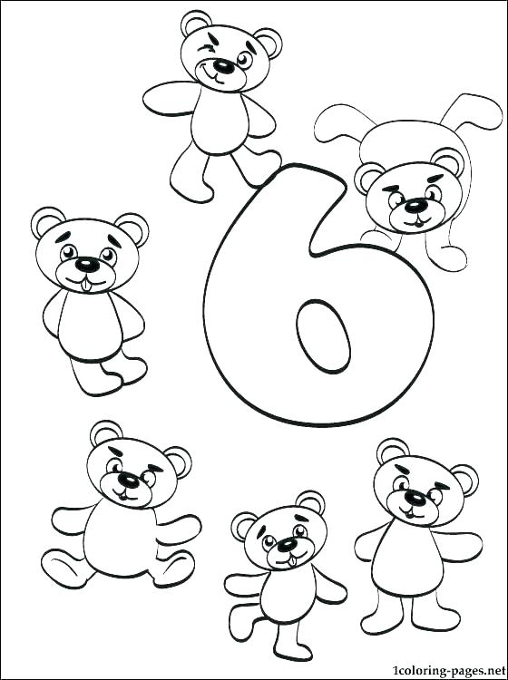 Number Coded Coloring Pages At GetColorings Free