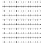 Number Line Template 04 Tim s Printables