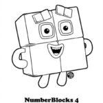 Numberblocks 10 Coloring Page Free Printable Coloring