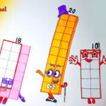 Numberblocks 20 New Numberblocks How To Draw And