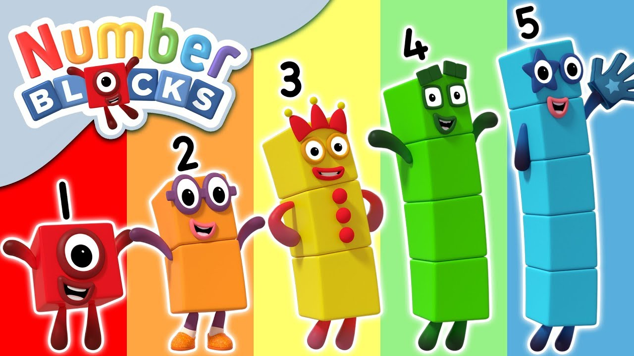 Numberblocks Colour By Numbers Learn To Count YouTube