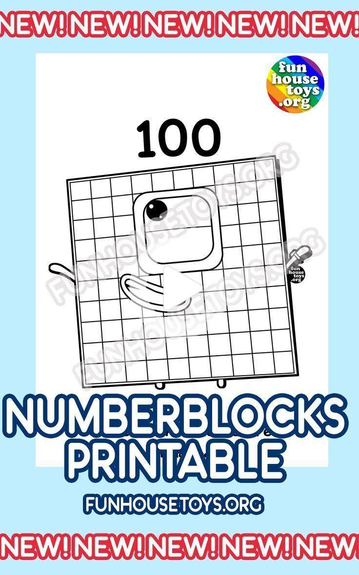 Numberblocks Printables In 2020 Fun Printables For Kids
