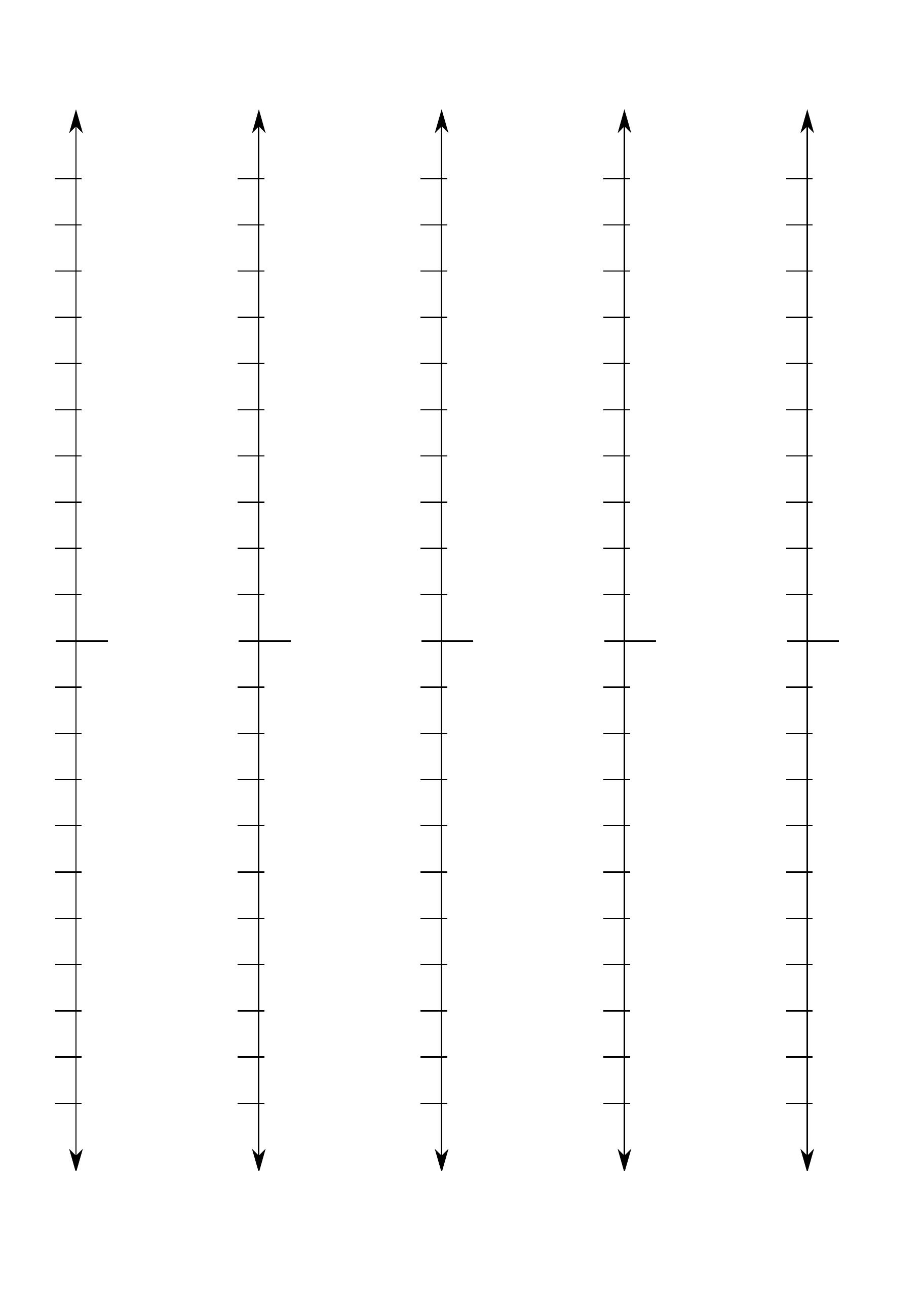 Numberline Vertical Free Download