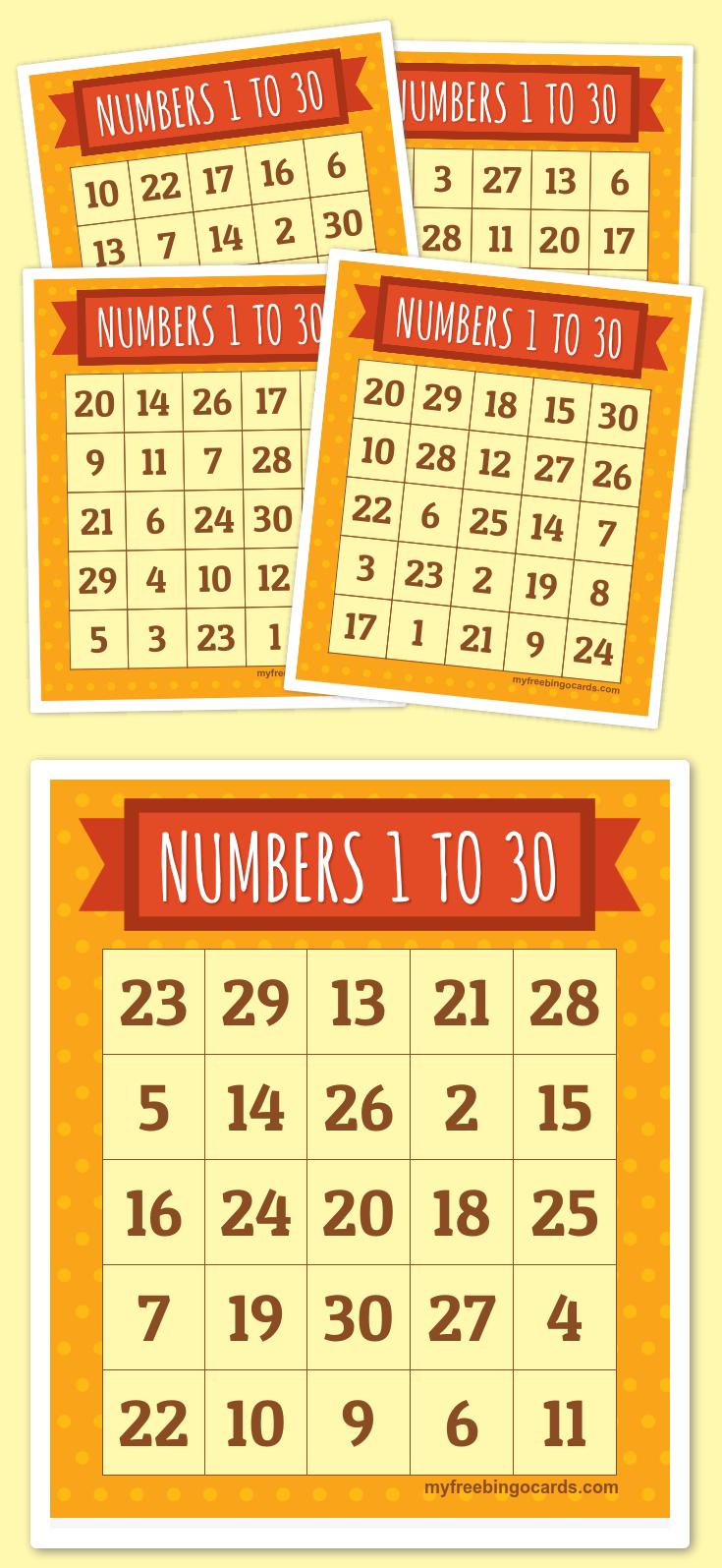 Numbers Bingo Cards From 1 To 20 Esl Worksheetcreguen
