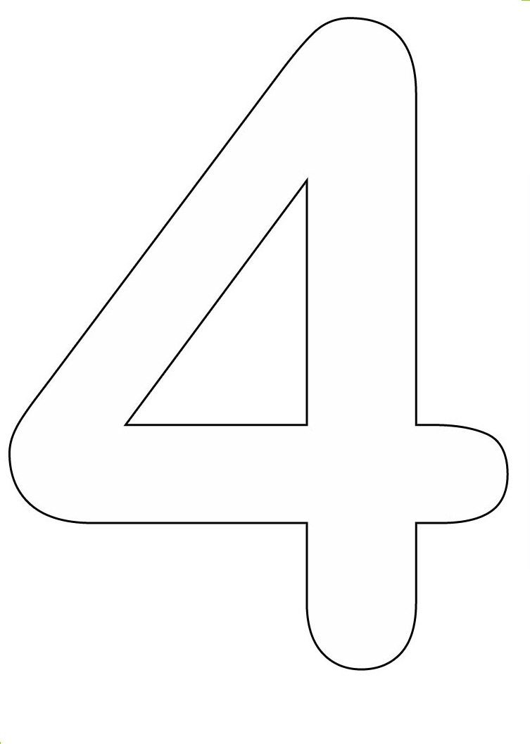 Numbers To Color Coloring Pages Part 2