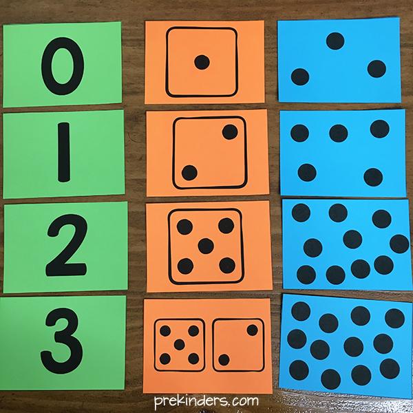 Numeral Cards Number Dot Cards Printables PreKinders