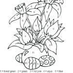 Paint By Number Coloring Pages At GetColorings Free