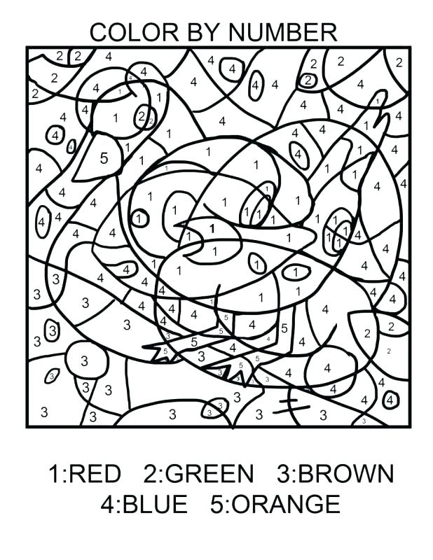 Paint By Number Coloring Pages At GetDrawings Free Download