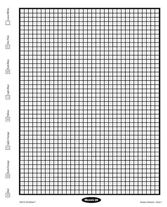Pin By MindWare On FREE MindWare Printables Mosaic