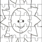 Pin En Printable Jigsaw Puzzles To Cut Out For Kids