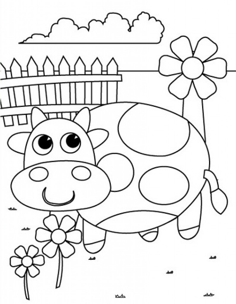 Pre Kindergarten Coloring Pages At GetColorings Free