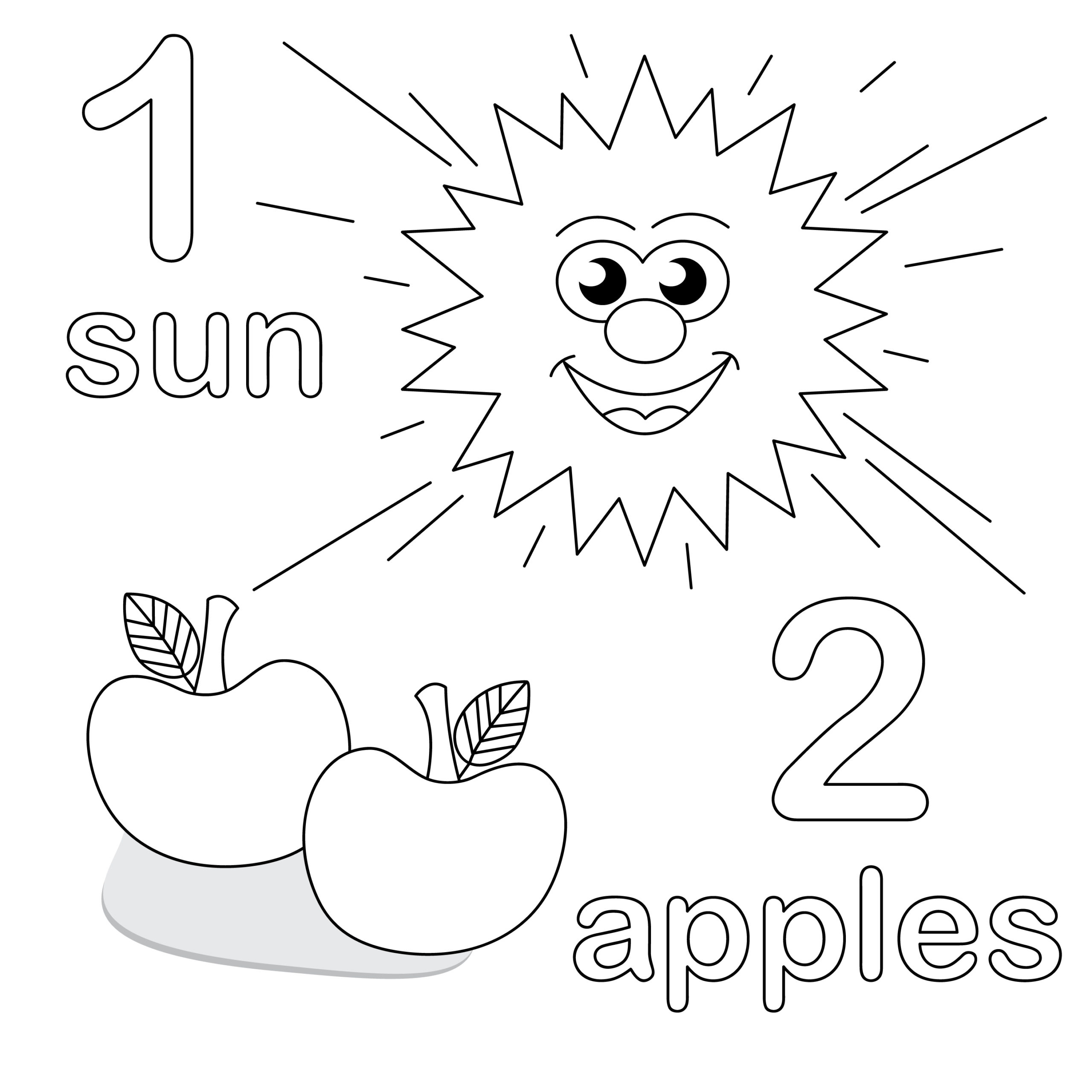Preschool Coloring Pages 1 Coloring Kids