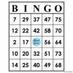 Printable Blank Bingo Cards 1 75 Printable Bingo Cards