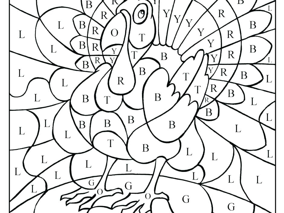 Printable Color By Number Coloring Pages For Adults At
