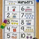 Printable Number Chart For Numbers 1 20 This Reading