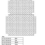 Robobean Color By Number Ranges Pixel Art Coloring Pages
