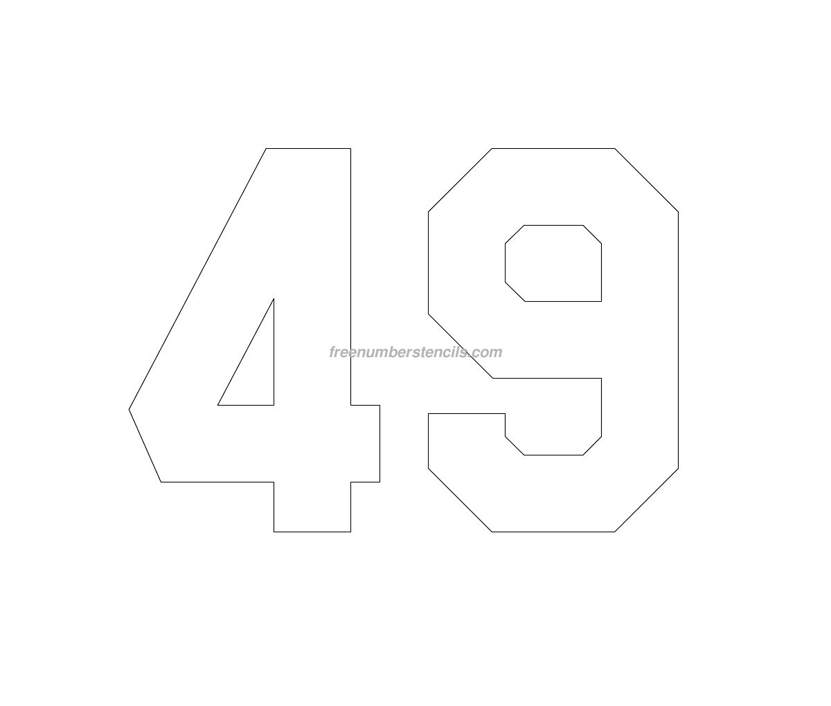 Search Results Jersey Number Stencils BestTemplatess