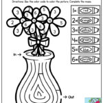 Simple Maze And Color By Number Two Activities In One
