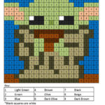 Star Wars Color By Number Coloring Squared